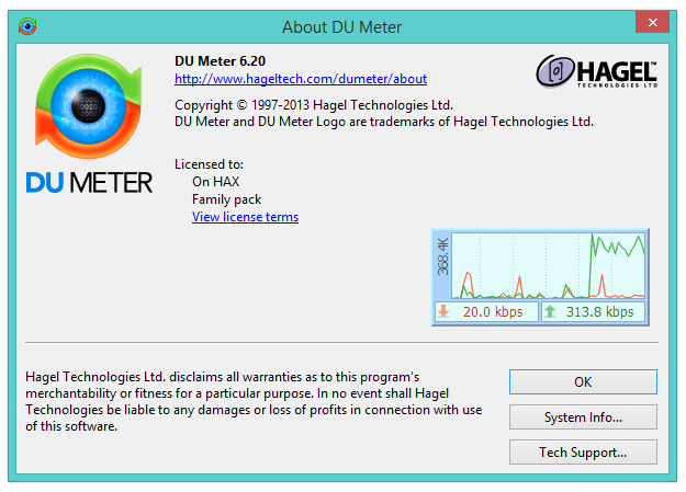 DU Meter Crack 7.30 Build 4769 Patch License Key [Latest 2020]